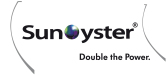 SunOyster | Double the Power.